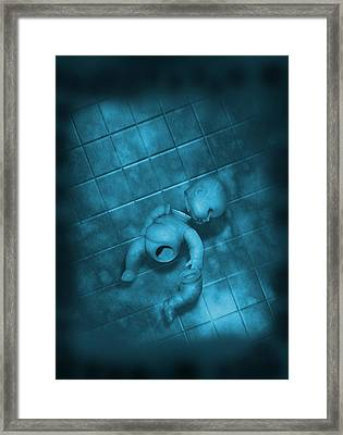 Child Abuse, Conceptual Image Framed Print
