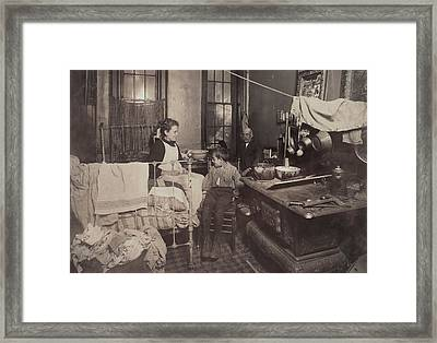 Child Abuse, From Caption Jimmie Framed Print