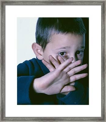 Child Abuse Framed Print