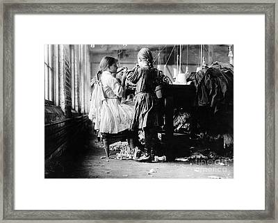 Child Labor Framed Print by Omikron