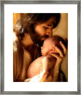 Child Of God Framed Print