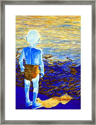 Child Of The Sea 2 Framed Print