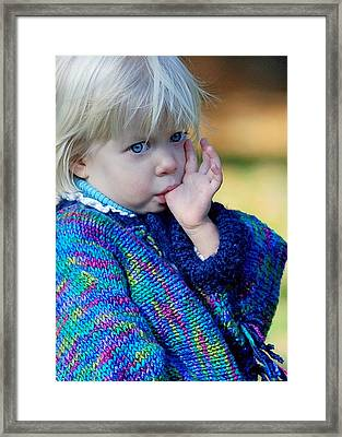 Childhood Framed Print by Lisa Phillips