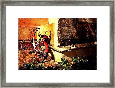 Childhood Memory Framed Print by Jyotsna Chandra