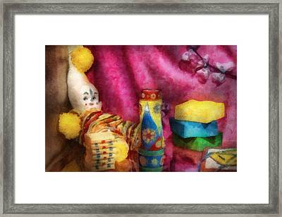 Children - Toy - Earliest Childhood Memories Framed Print