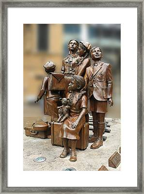 Children In Nazism Framed Print