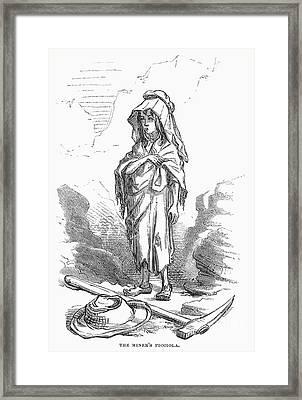 Children: Miners Daughter Framed Print by Granger