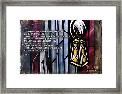 Children Of God Framed Print by David Arment