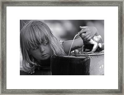 Children Of Old Thorn I Framed Print by Waldek Dabrowski