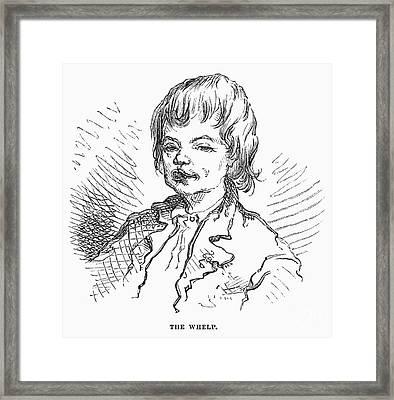 Children: Types Framed Print by Granger