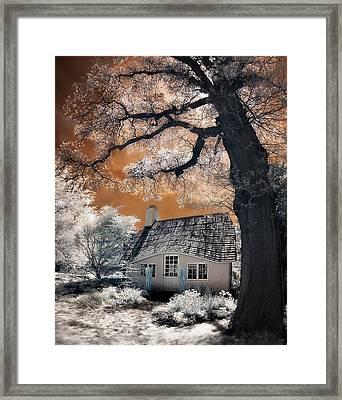 Children's Cottage Framed Print