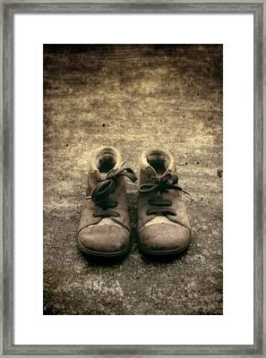 Children's Shoes Framed Print