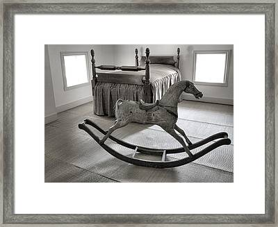Childs Room Long Ago Framed Print by Steven Ainsworth