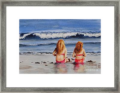 Child's Wonder Framed Print by Andrea Timm