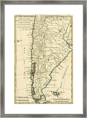 Chile Framed Print by Guillaume Raynal