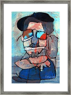Chillin Framed Print by Charlie Spear
