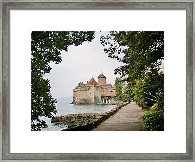 Chillon Castle Framed Print by Marilyn Dunlap