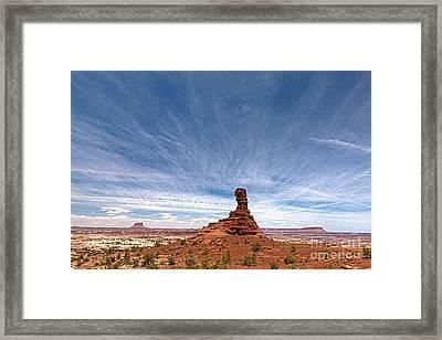 Chimney Rock Mind Set Framed Print by Scotts Scapes