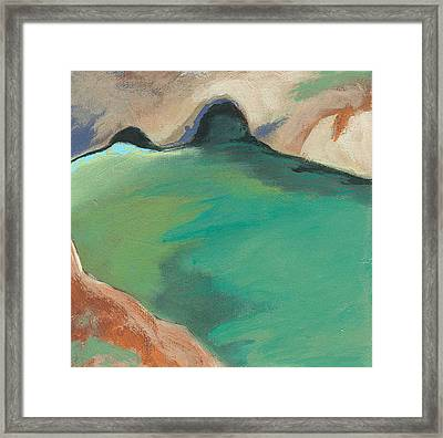 China Cove Framed Print by Laurel Porter-Gaylord