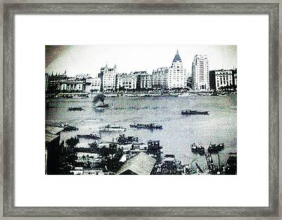 China Landscape Framed Print by Unique Consignment