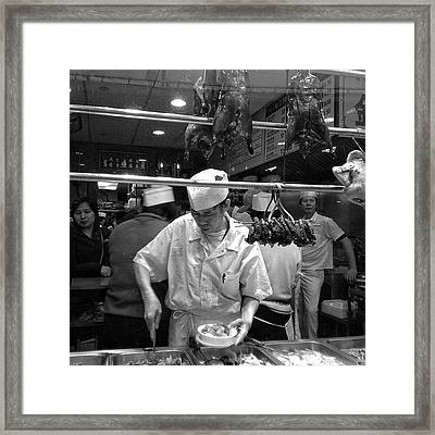 Chinatown - New York Framed Print
