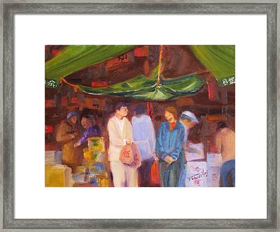 Chinatown  Vancouver Framed Print by Mohamed Hirji