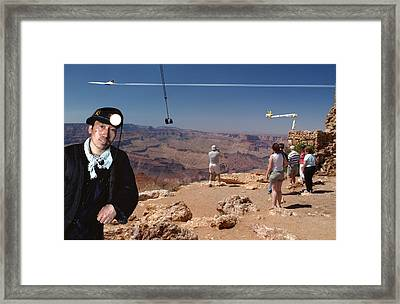 Chinese Buy Grand Canyon-1 Framed Print by Larry Mulvehill