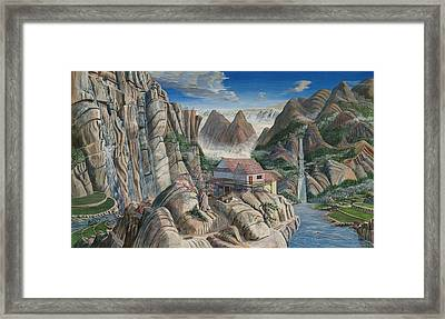 Chinese Dreamscape Framed Print