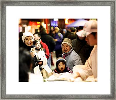 Framed Print featuring the photograph Chinese New Year by David Harding