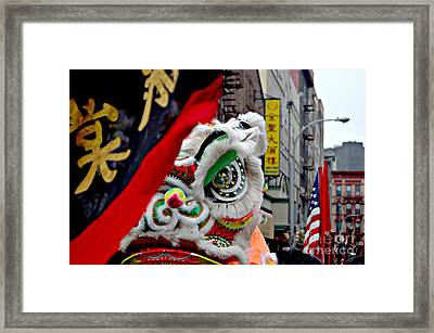 Chinese New Years Nyc  4704 Framed Print
