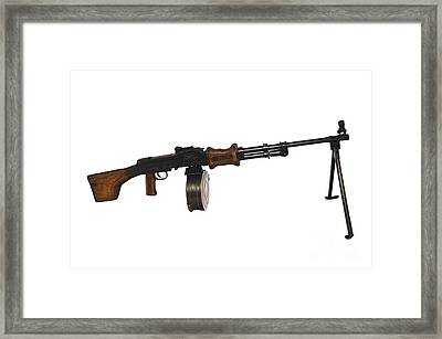 Chinese Type 56 Light Machine Gun Framed Print