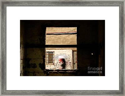 Chinese Whispers Framed Print