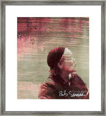 Chinese Woman Framed Print