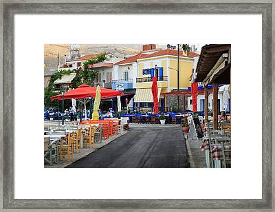 Chios Greece 2 Framed Print