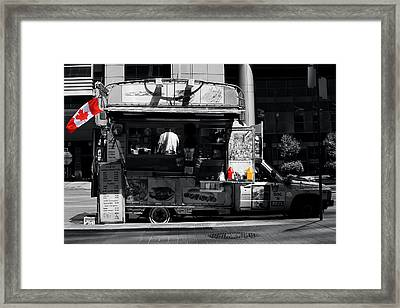 Chip Wagon Framed Print by Andrew Fare