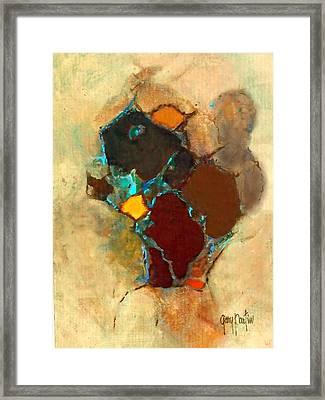 Chipmonk Abstract Framed Print