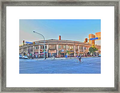 Chippewa And Delaware Framed Print by Michael Frank Jr