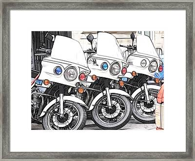 Chips With Everything Framed Print by Fiona Messenger