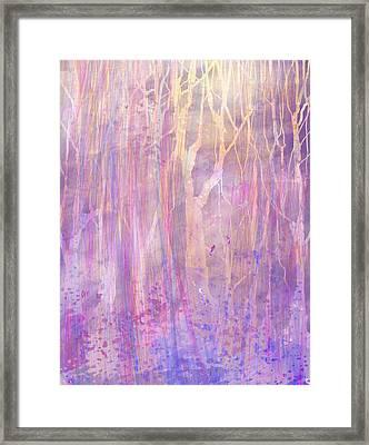 Chitchat Framed Print by Rachel Christine Nowicki