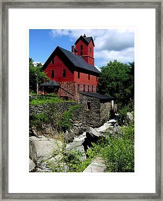 Chittenden Mill  Framed Print