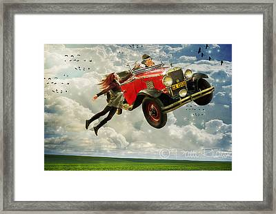 Chitty Chitty Oh No Framed Print by Patricia Ridlon