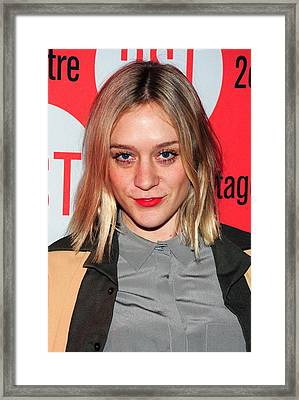 Chloe Sevigny In Attendance For Second Framed Print