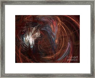 Chocolate Framed Print by Andee Design