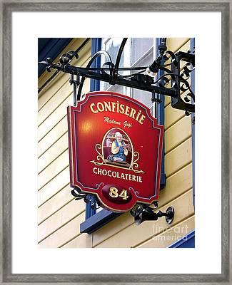 Chocolate Framed Print by Anne Gordon