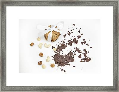 Chocolate Biscuits Framed Print