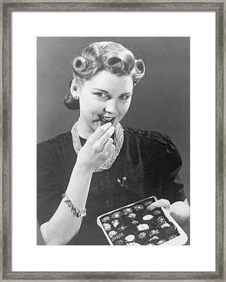 Chocolate Heaven Framed Print by Fpg