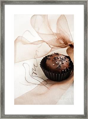 Chocolate Framed Print by Kati Molin