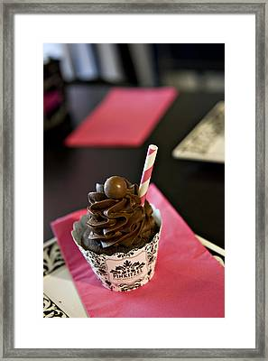 Chocolate Malt Framed Print by Malania Hammer