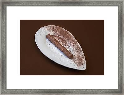 Chocolate Praline Framed Print by Joana Kruse