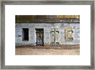 Choose Your Door Framed Print